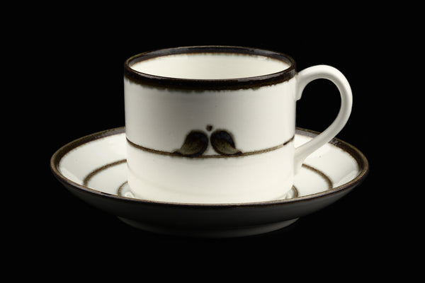 Rörstrand Sweden Nordica Coffee Cup and Saucer