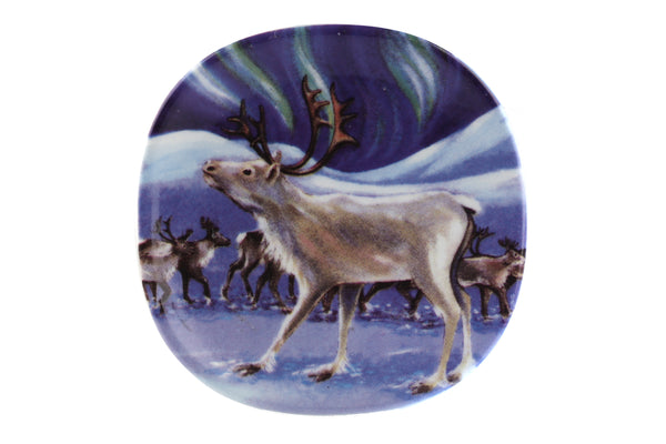 Arabia Finland Small Wall Plate, Northern Lights