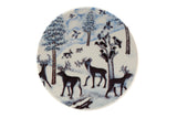 Arabia Finland Small Wall Plate,  Migratory birds