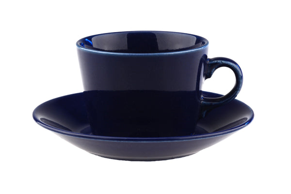 Arabia of Finland Kilta Teema Blue Cup and Saucer