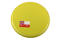 Worcester Ware Yellow / Red / Orange Enamel Metal Serving Tray