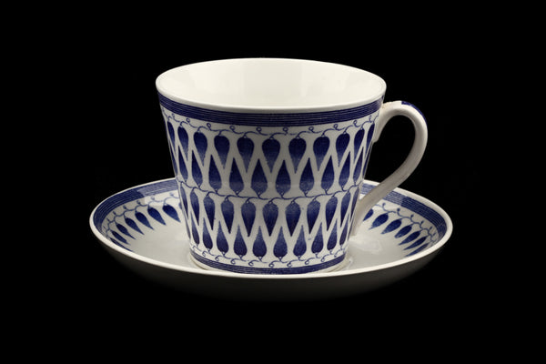 Artur Percy Lillemor 1951-64 Large Cup & Saucer for Upsala Ekeby, Gefle