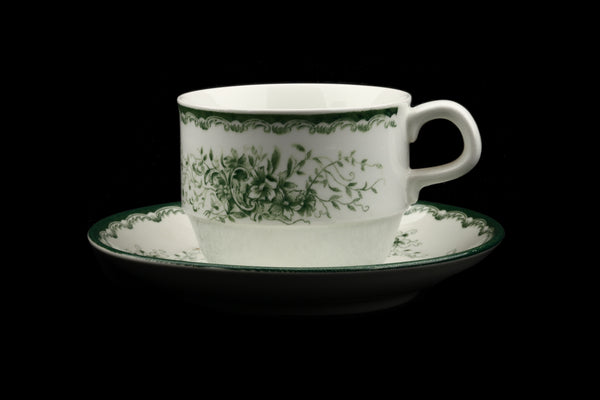 Rörstrand Sweden Grön Anna Cup and Saucer