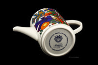 Villeroy & Boch Acapulco Coffee Pot Vintage Birds Flowers