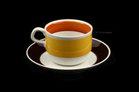 Rörstrand Sweden Fokus Cup and Saucer