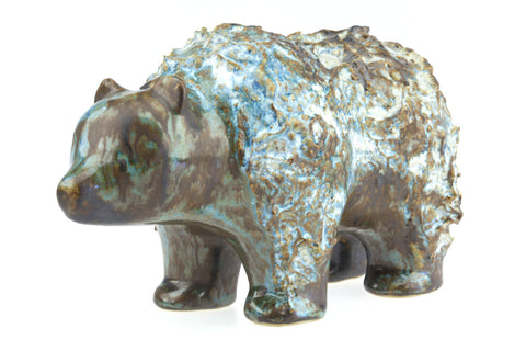 Ego Stengods Lidkōping Swedish Ceramic Bear