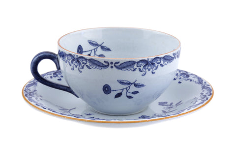Rörstrand Sweden Ost India / Ostindia East Indies Tea cup and saucer