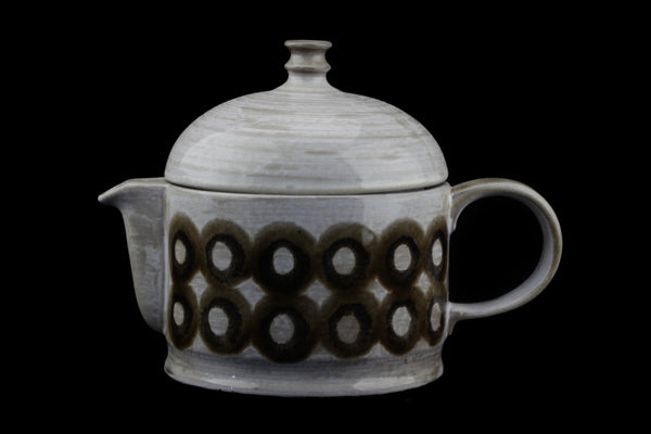 Ceramano Gerda Heuckeroth Tea Pot Tique Pattern..
