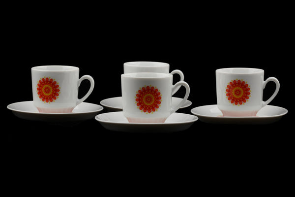 Winterling Schwarzenbach Bavaria Coffee Cup and Saucer 4x