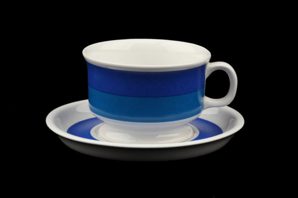 Arabia of Finland Mocca Coffee Cup and Saucer Spektri