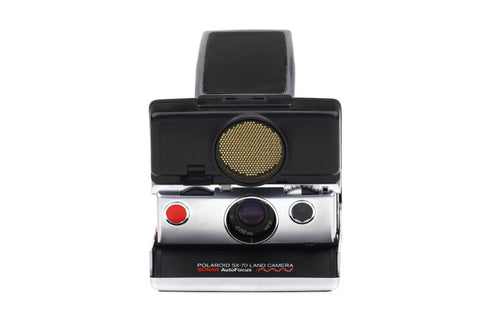 Polaroid SX-70 Land Camera Sonar OneStep with Original Case.. Retro Photography Retro Camera Vintage Pictures.