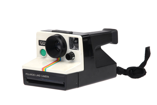 Polaroid 1000 Rainbow Stripe Land Camera 1970s