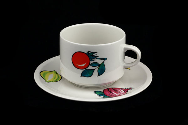Villeroy and Boch Primabella Large Coffee Cup and Saucer
