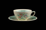 Susie Cooper England Dresden Spray Tea Cup and Saucer