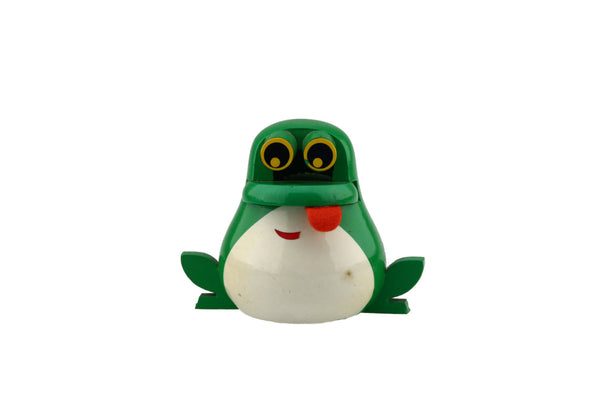 FMF France Green Wood Frog Money Bank with Key