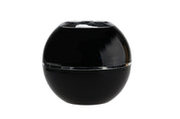 Space Age Black Plastic Vase