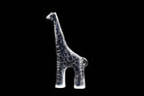 Kosta Boda Crystal Zoo Series Giraffe Sculpture Flat Back Figurine