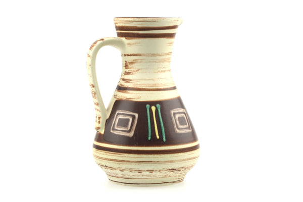 Jasba-Keramikfabriken West German Pottery Pitcher 218-18 Vase