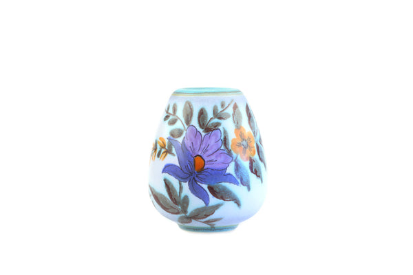 Flora Gouda Holland Vase Model 1041 Decor Iris