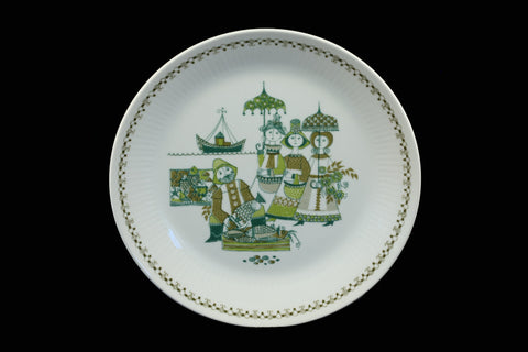 Figgjo Flint Turi Market Design Norway 24 cm Dinner Plate Dinnerware