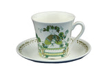 Figgjo Flint Turi Market Design Norway Coffee Cup and Saucer