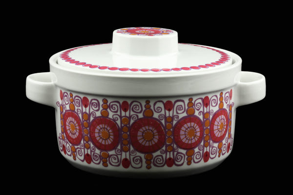 Figgjo Flint Turi Barcarole Covered Casserole Serving Dish with Lid