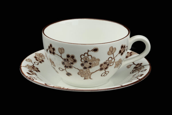 Rörstrand Sweden Japonica Coffee Cup and Saucer