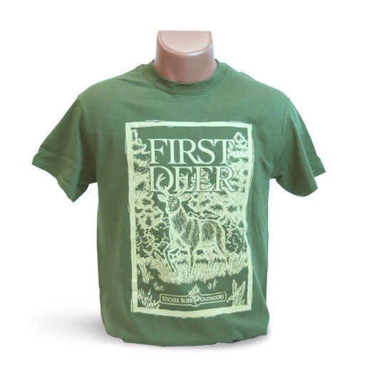 Green First Deer T-shirt
