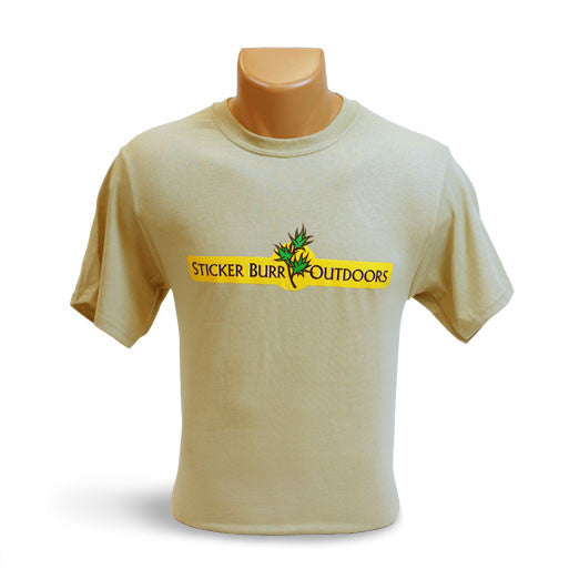 TAN SHIRT front logo