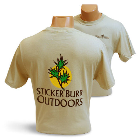 TAN SHIRT front/back logo