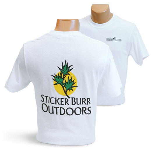 WHITE SHIRT front/back logo
