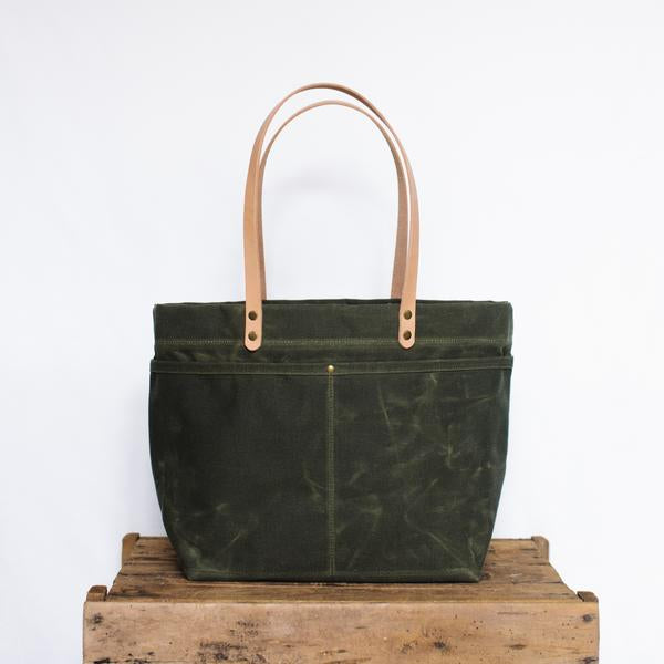 mountain laurel canvas tote
