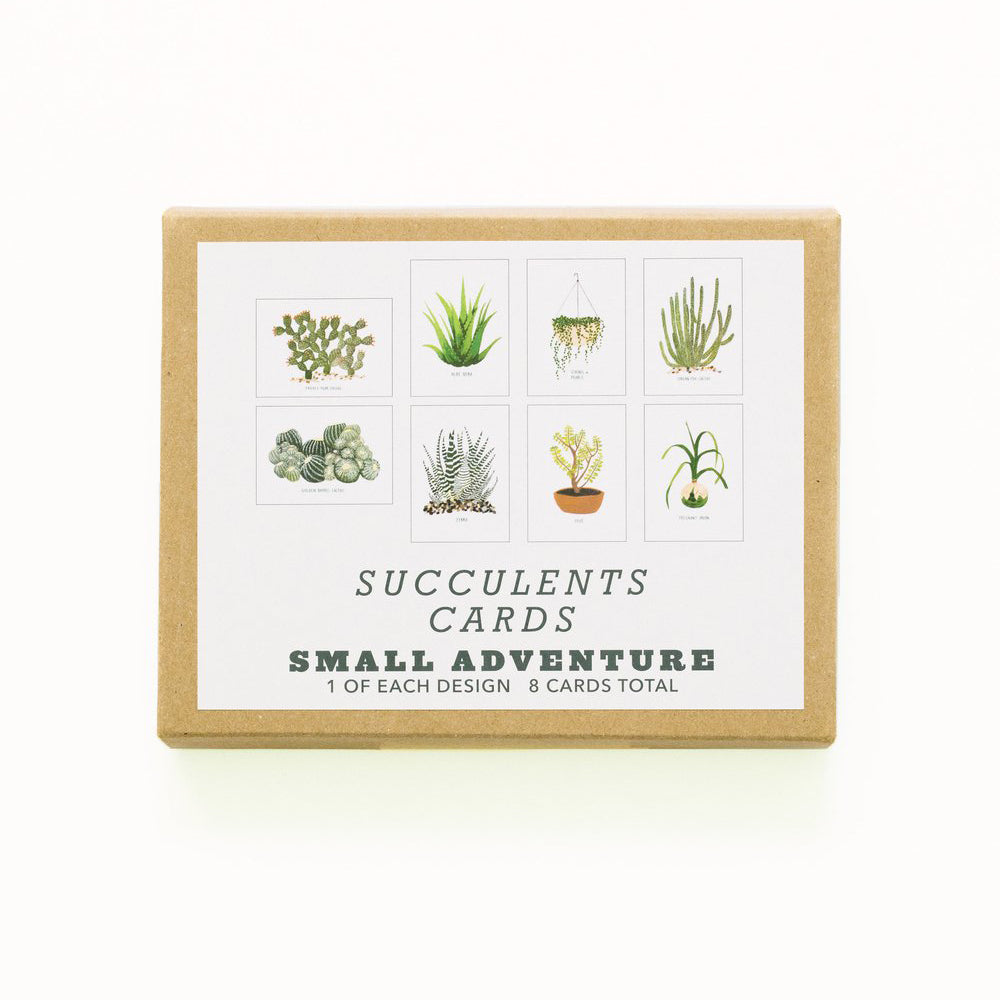 Succulents Card Set