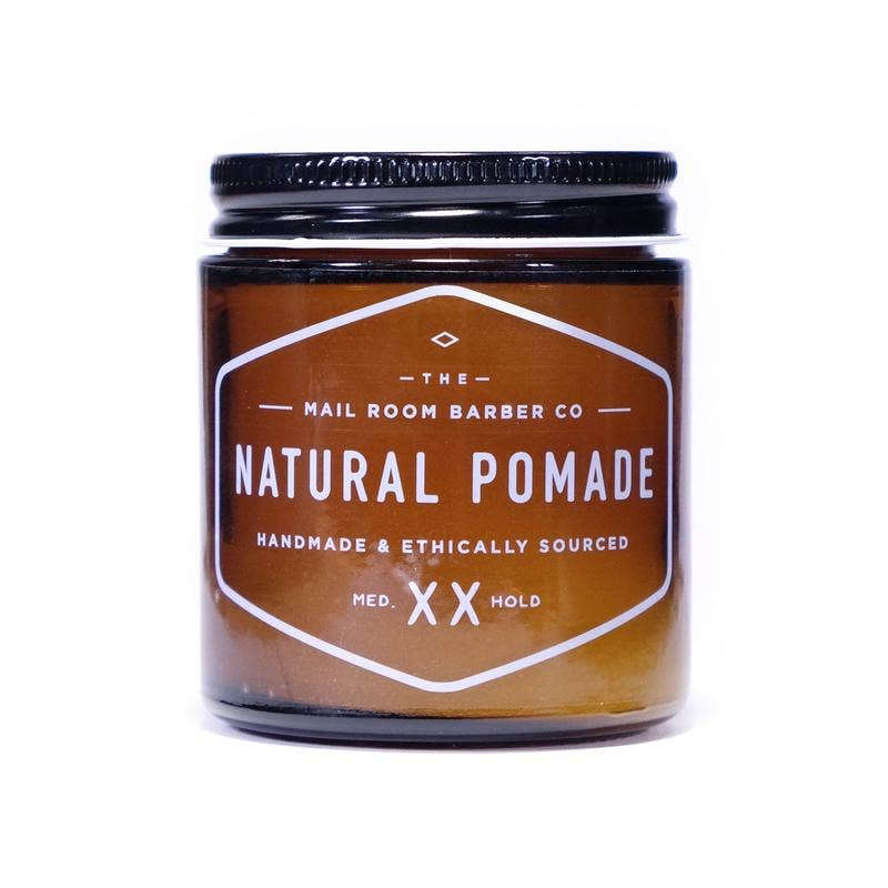 Natural Pomade, Medium Hold - Pipe Tobacco