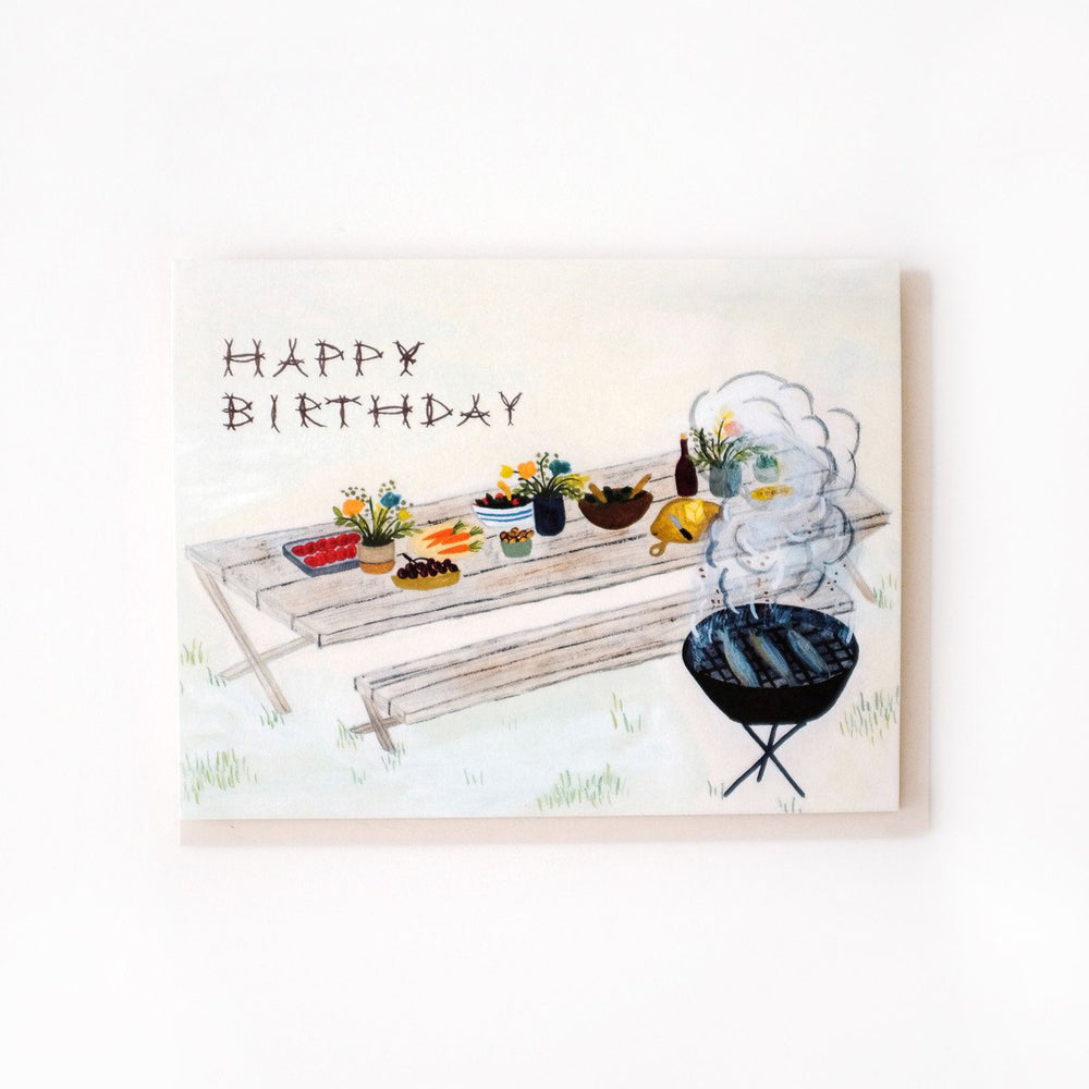 Birthday Picnic Card