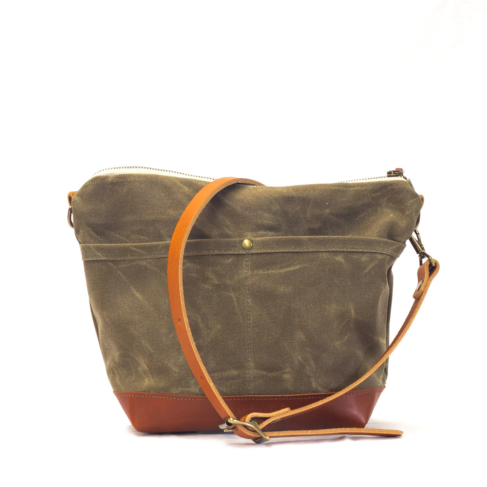 Rivanna Deluxe Crossbody Bag - Field Tan