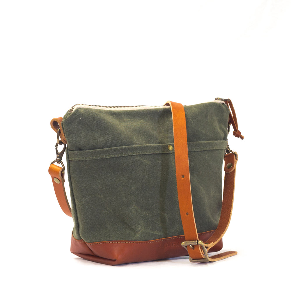 Rivanna Deluxe Crossbody Bag - Olive
