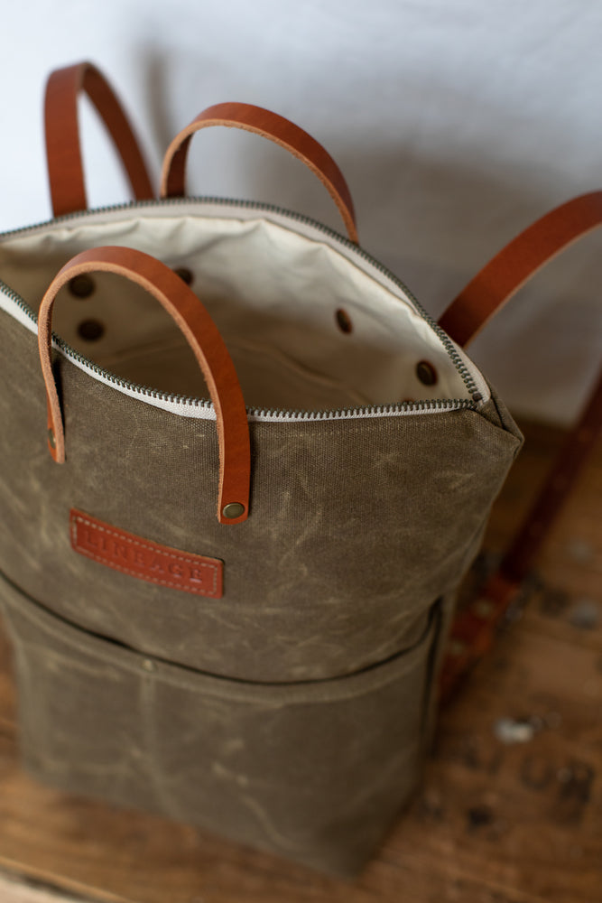 York Backpack - Field Tan