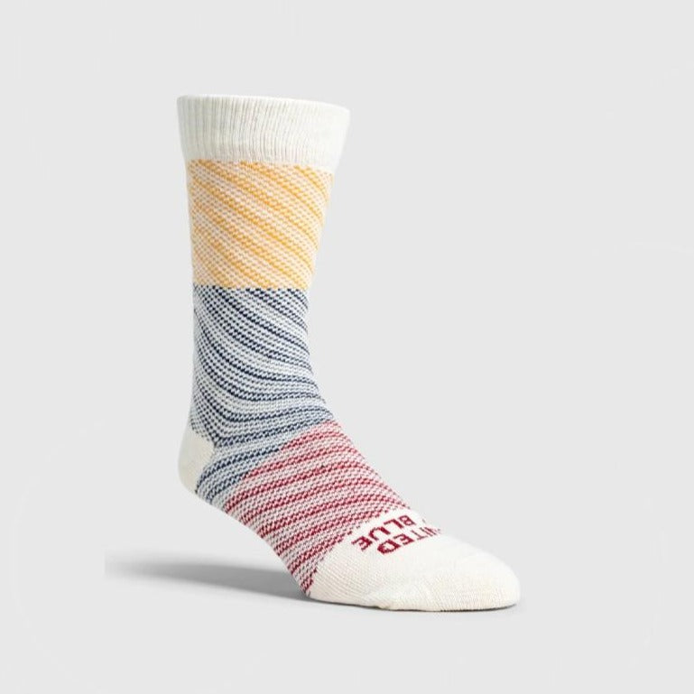 Colorblock Soft Hemp Sock
