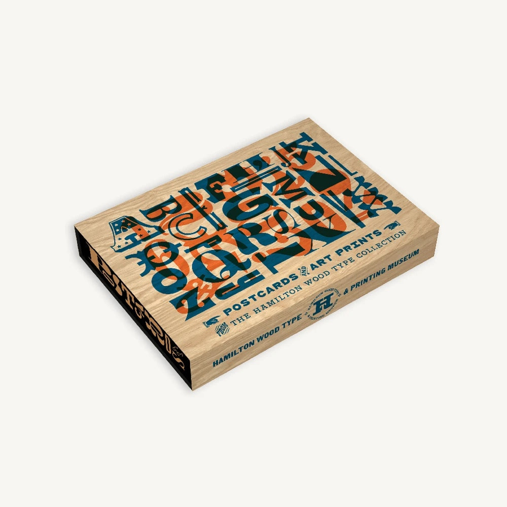 Woodtype Postcards & Art Prints Set