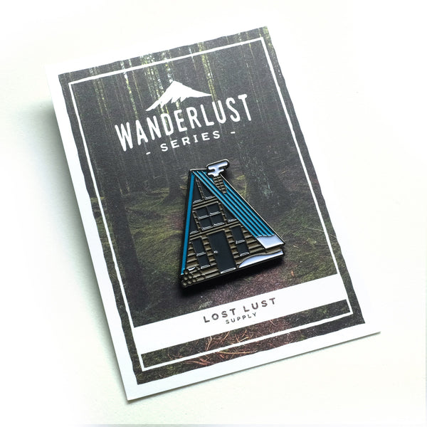 Lost Lust Supply - A-Frame Winter Pin