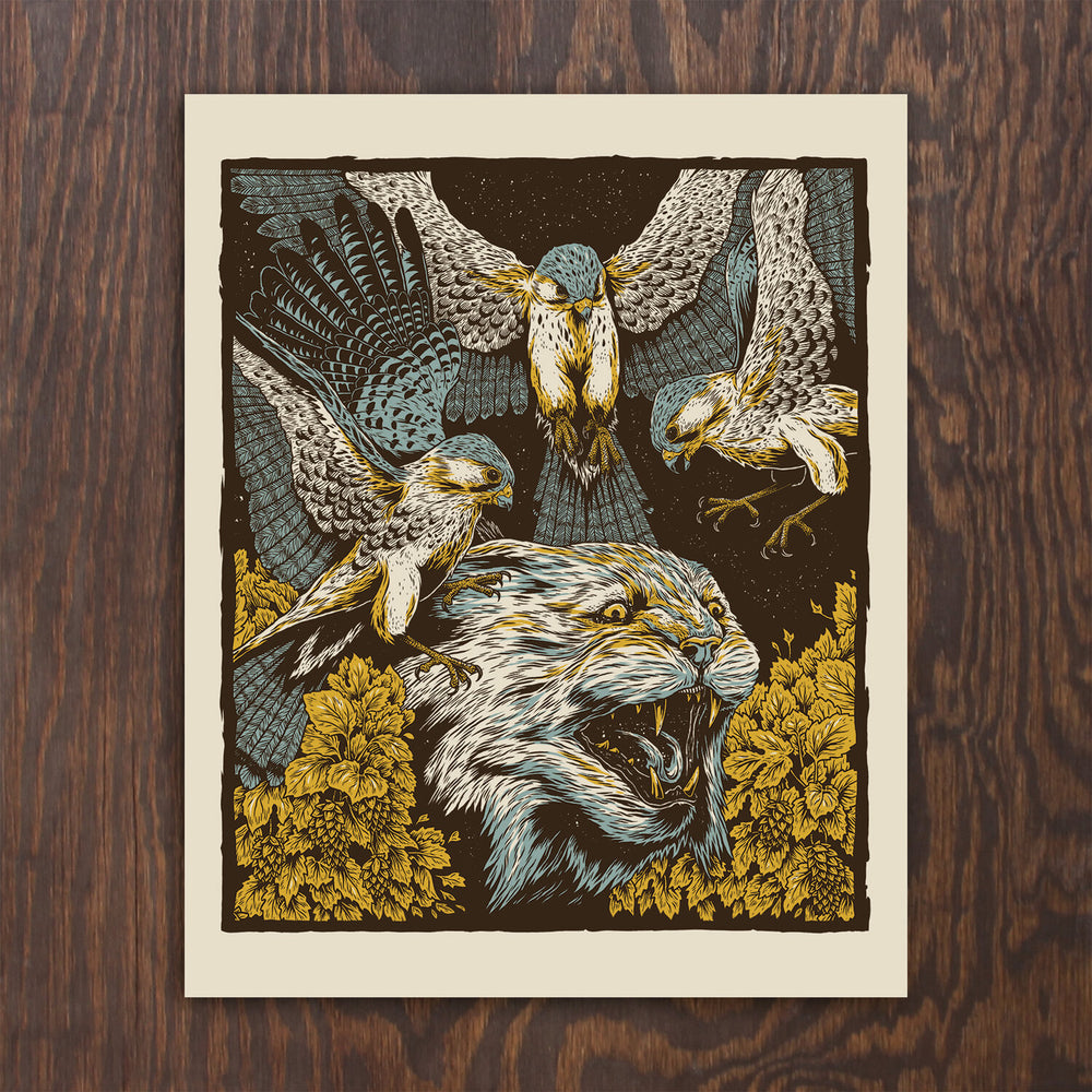 Bobcat Screen Print