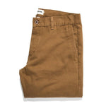 The Slim Chino in Organic British Khaki