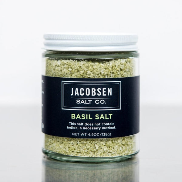 Jacobsen Salt Co. - Basil Salt