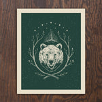 King Bear Screen Print