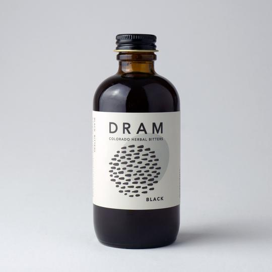 DRAM Black Cocktail Bitters
