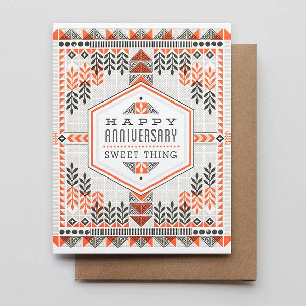 Happy Anniversary Sweet Thing Card