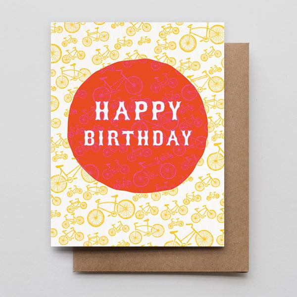 Birthday Bikes Card