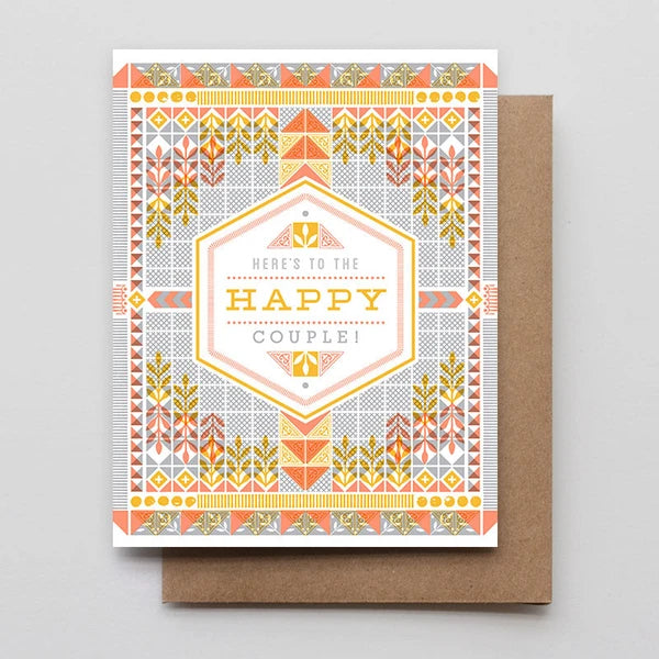 Here's to the Happy Couple Card