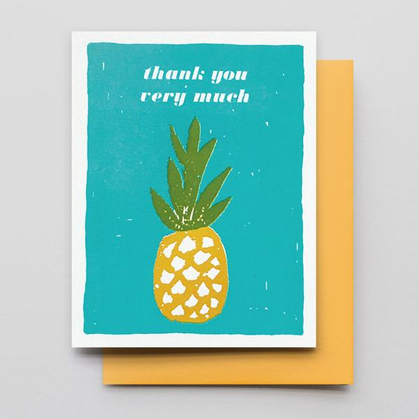 Thank You Pineapple Card